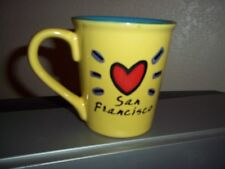 San Francisco Coffee Cup Mug Yellow Luke-a-Tuke