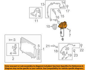 Scion TOYOTA OEM 05-10 tC-A/C AC Compressor 8832021100