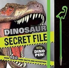 Book of Secrets with Pen Secret Dinosaur File by Parragon (Hardback, 2015)
