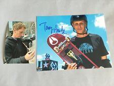 TONY HAWK Skateboard-Legende In-person signed Foto 20x25 + Foto
