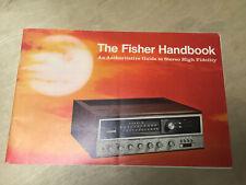 Vtg Fisher Radio Catalog 500-TX 450-T XP-18 President 4 Executive IV Statesman