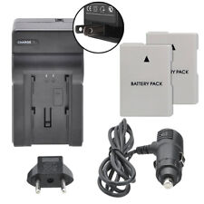 Dual Battery EN-EL14a & Charger Kit for Nikon D5500 D5300 D5200 D5100