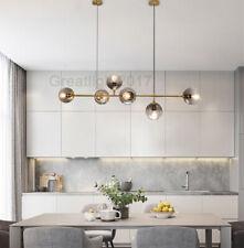 INS Bubble LS Chandelier Nordic Magic Bean Horizontal Pendant Light Golden Lamp