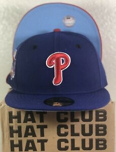 Generie Adult Baseball Cap Adjustable All-Star Baseball Hat for League Baseball Team fit Phillies