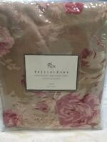 pottery barn manchester rose duvet cover twin nwt 3 piece set