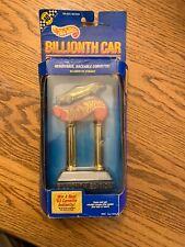 Hot Wheels Billionth Edition Car Trophy Corvette Removable Raceable Card Crease