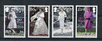 South Georgia & Sandwich Isl 2016 MNH Queen Elizabeth II 90th Bday 4v Set Stamps
