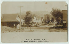 - RPPC - Railroad Station RR Depot - Sauquoit NY 1905 Real Photo Postcard Paris