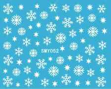 Nailart stickers autocollants ongles scrapbooking: flocons de neige étoiles