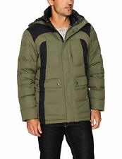 NWT Mens Spyder 700 Fill Down Garrison hood Jacket Size Large Free Shipping