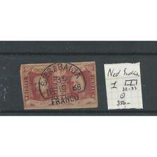 """Ned.Indie  1 paartje """"SOERABAJA 1868""""   VFU/gebr  CV 350 €"""