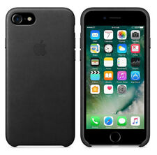 Original Apple Case iPhone 7 / 8 Leder Handy Schutzhülle Cover Black Schwarz OVP