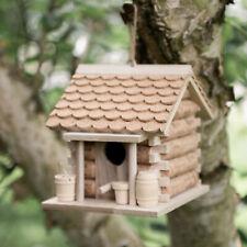 More details for wine cork bird house nesting box garden ornament outdoor cabin tree hanging hut