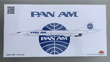 EXTREMELY RARE! Inflight 200 - 1:200 Pan Am Aerospatiale/BAC Concorde