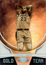 2019-20 Certified Gold Team #17 LeBron James - NM-MT