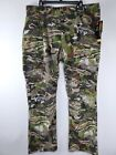 Mens Under Armour Storm Field Ops Hunting Pants 1313212 Forest Camo 32, 38, 42
