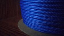 4 mm x 500 ft. Accessory Cord/Rope. Banner/Camp/Utility. 700 #. Blue. US Made
