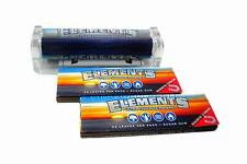 Elements 79mm Cigarette Rolling Machine + 2 Packs of Elements Ultra Thin Rice 1¼