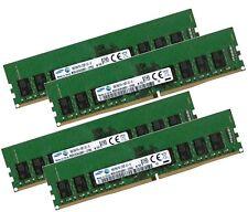 4x 16gb 64gb ddr4 ECC RAM 2133 MHz pc4-2133p-e F. Lenovo ThinkServer rs160 ts150
