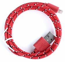 3/6/10FT Braided Lightning Sync Data Cable USB Charger For iphone 5S 6S 7 6 Plus