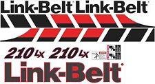 Link-belt 210LX Aftermarket Decal Kit