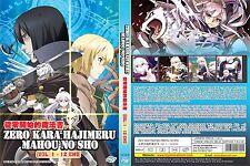 Grimoire of Zero (Chapter 1 - 12 End) ~ DVD ~ English Subtitle ~ Anime