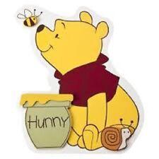"""48 Winnie The Pooh Sticker Label Envelope Seals 1.2"""" Round"""