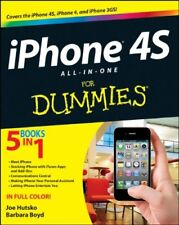 iPhone 4S All-in-One For Dummies (For Dummies (Lifestyles Paperback)),Joe Hutsk