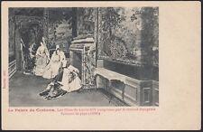 AX2835 Le Palais du Costume - Les Filles de Louis XIV - Cartolina postale