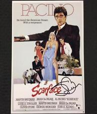 STEVEN BAUER Autograph SCARFACE Signed 11x17 Movie Poster Photo  BAS Beckett COA