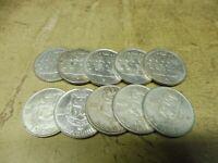 Anlegerposten ,Belgien Silber , 10 x 100 Francs , 180g , Investorenpaket