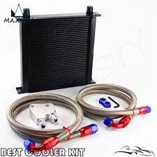 40 Row Engine Oil Cooler Kit + Female  Plate For LS1 LS2 LS3 VT VX VY VZ VE 5.7L