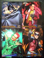 COMPLETE SET! 1995 Target Fleer Ultra Batman Forever Trading Card Set-Uncut
