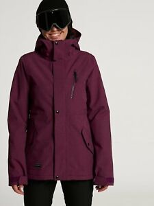 2021 NWT WOMENS VOLCOM ASHLAR INSULATED JACKET $200 S Vibrant Purple