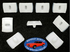 1964 Impala Body Side Belt Molding Moulding Bath Tub Style Trim Clips 10pcs UC