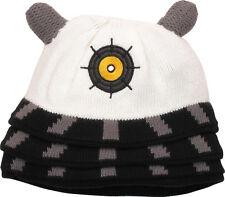 DOCTOR WHO WHITE SUPREME DALEK BEANIE Knit Cosplay Cap Hat (011296)