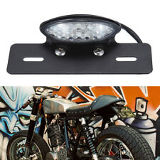 12V Rear License Plate Bracket Tail Lights For Cafe Racer Chopper Motorcycles Us(Fits: Boss Hoss)