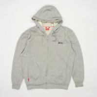 Slazenger Mens Size M Grey Hoodie