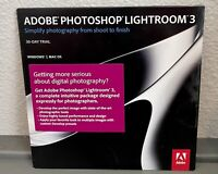 Photoshop Lightroom 3  30-DAY TRIAL Apple Mac Windows PC Photography