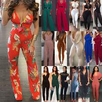 New Women Playsuit Party Jumpsuit Romper Long Trousers Pants Clubwear Summer Lot