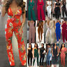 Womens Sleeveless Bodycon Long Pants Jumpsuit Romper Trousers Clubwear playsuit