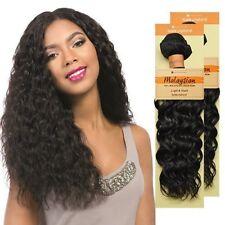 """Sensationnel 100% Malaysian Virgin Remi Human Hair Spanish Wave Weaving 10""""- 20"""""""