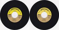 45 giri juke box QUEEN SAMANTHA - The letter/HOMO SAPIENS - Due mele (1978)