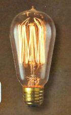 NOSTALGIC 40W LIGHT BULB Bulbrite 134019 Edison Squirrel Cage 120v NEW AmaZinG!