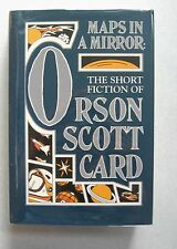 MAPS IN A MIRROR  by ORSON SCOTT CARD  SIGNED (1990)1st Ed.HB