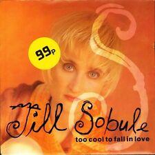 "JILL SOBULE too cool to fall in love/sad beauty MCA 1446 uk mca 1990 7"" PS EX/EX"