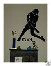 Baseball VINYL Wall DECAL art stickers lettering decor