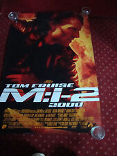 MISSION IMPOSSIBLE 2 starring TOM CRUISE    FILM POSTER 100 x 69 cms