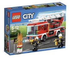 Lego City 60107 Fire Ladder Truck Fire Engine Brand New 2 Mini Figs/214 Pieces