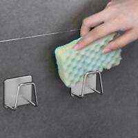 Drain Rack Kitchen Sink Sponge Soap Cloth Storage Drying Holder F0X5